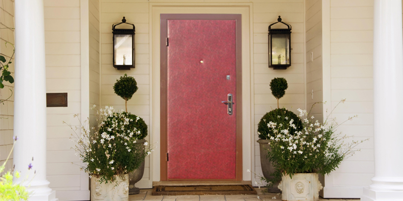 Двери с винилискожей