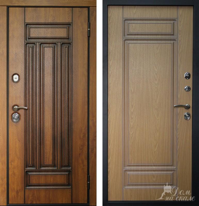 входные двери с декоративными накладками