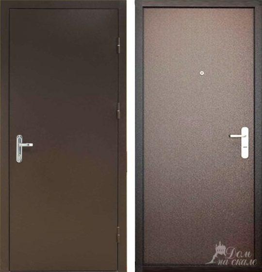 Стальная дверь «Эком»