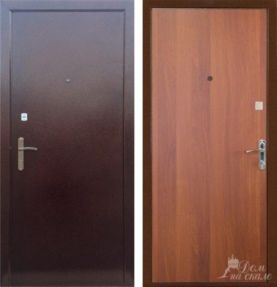 Стальная дверь «Эконом плюс»