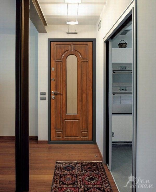 дизайн стальная дверь