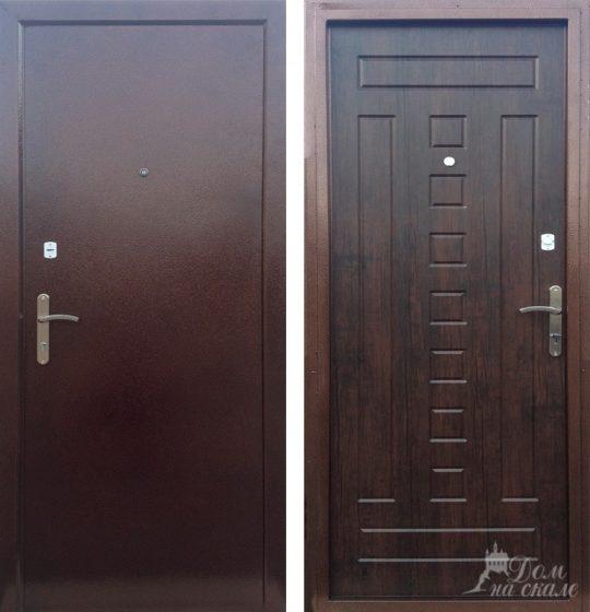 Стальная дверь «Спарта 1»