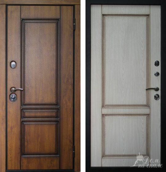 Стальная дверь «Трио»