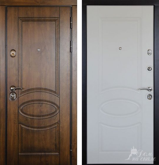 Стальная дверь «Грация»